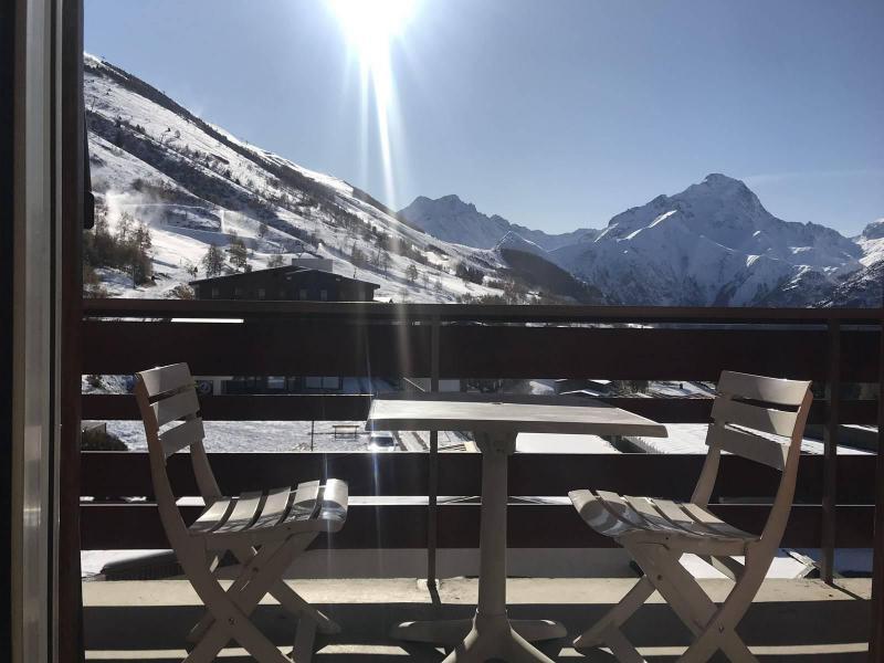 Wakacje w górach Studio z alkową 4 osoby (223) - Résidence la Meije 10 - Les 2 Alpes