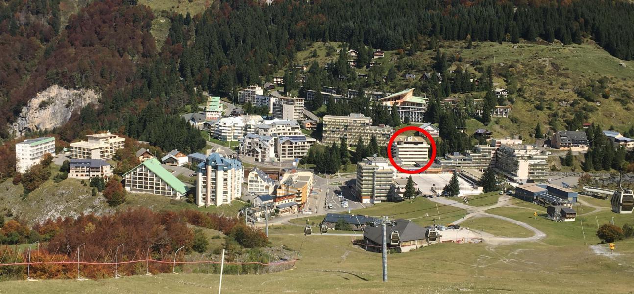 Location au ski Résidence la Paloumère - Gourette - Extérieur été