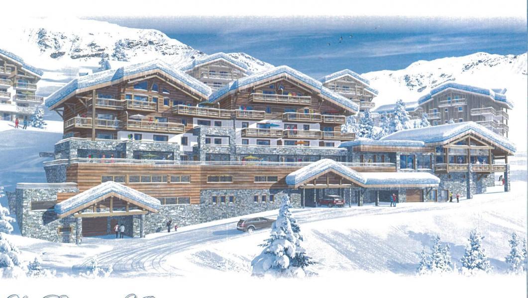 Vacaciones en montaña Résidence la Perle des Alpes H - Les Saisies - Plano