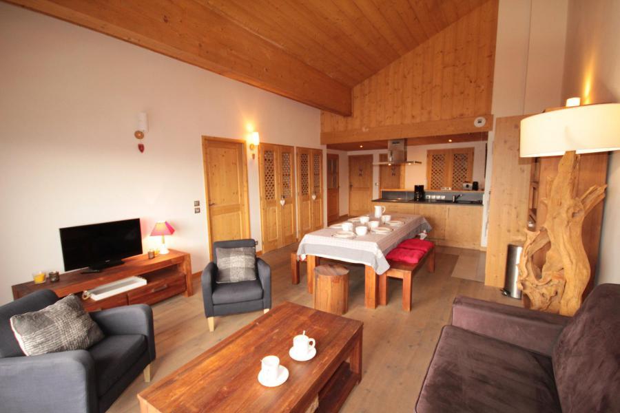 Vacaciones en montaña Apartamento 4 piezas para 10 personas (PERH21) - Résidence la Perle des Alpes H - Les Saisies - Estancia