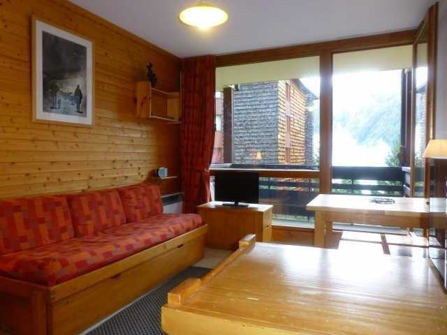 Holiday in mountain resort Studio sleeping corner 4 people (1237) - Résidence la Pierra Menta - Peisey-Vallandry