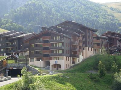 Location au ski Résidence la Roche Combe - Valmorel - Extérieur été