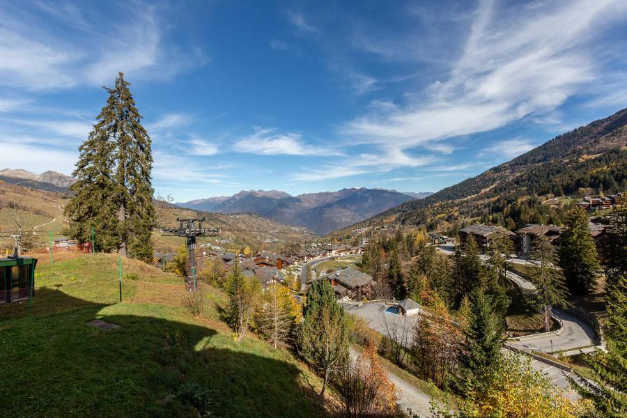 Location au ski Studio 4 personnes (026) - Résidence la Roche Combe - Valmorel - Extérieur été