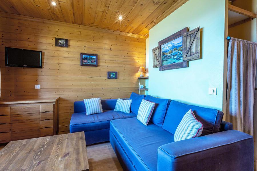 Vacaciones en montaña Estudio para 4 personas (026) - Résidence la Roche Combe - Valmorel - Salón