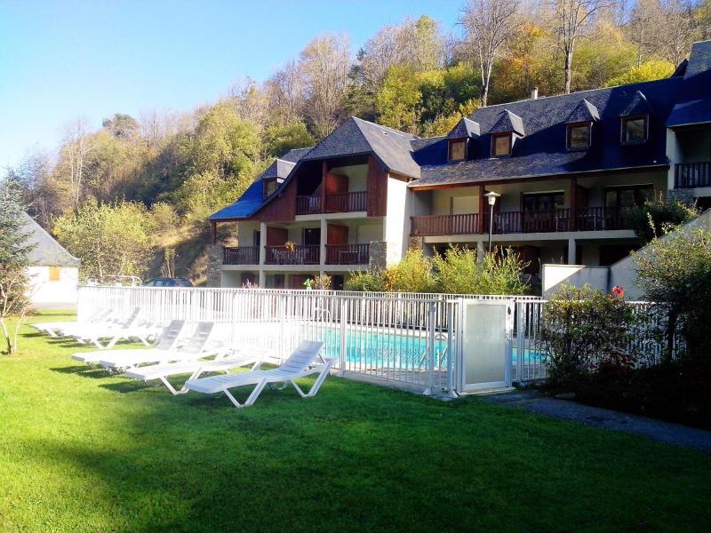 Location au ski Résidence la Soulane - Peyragudes - Extérieur été