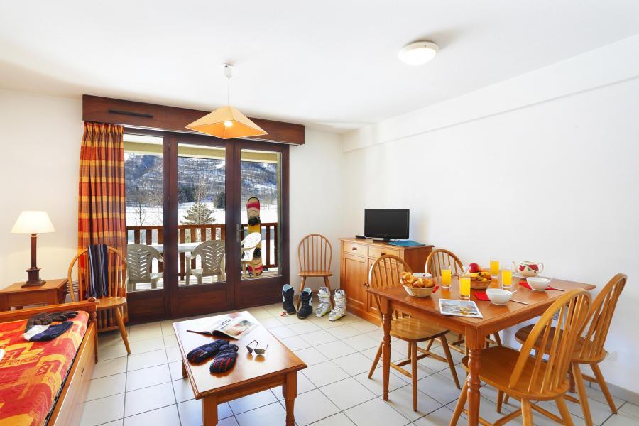 Urlaub in den Bergen Résidence la Soulane - Peyragudes - Essbereich