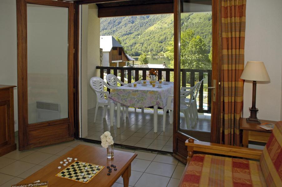 Urlaub in den Bergen Résidence la Soulane - Peyragudes - Fenstertür zum Balkon