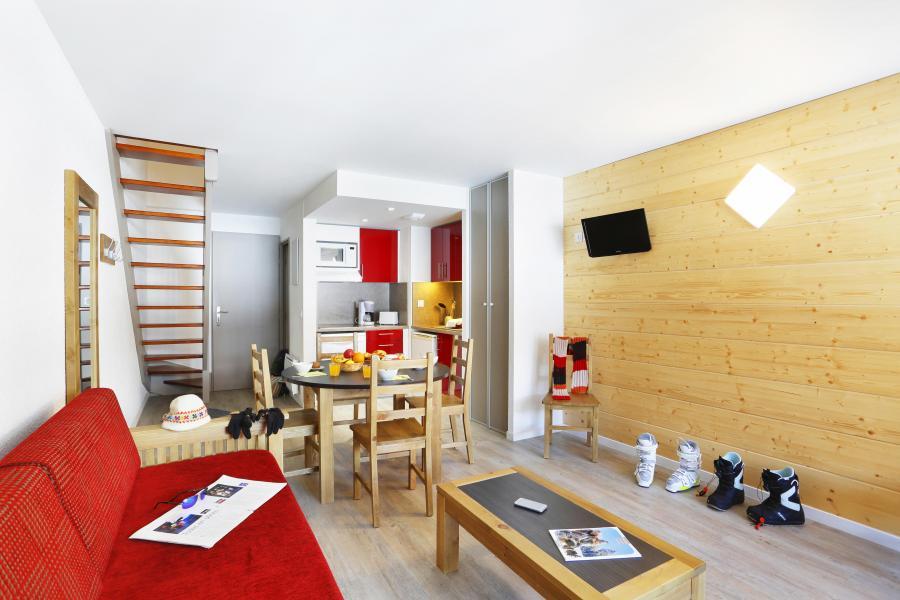 Urlaub in den Bergen Résidence la Soulane - Peyragudes - Wohnzimmer
