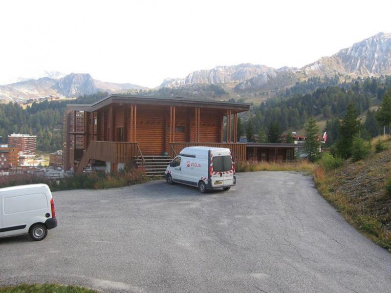 Vacances en montagne Studio 4 personnes (17) - Résidence la Taiga - La Plagne - Extérieur été