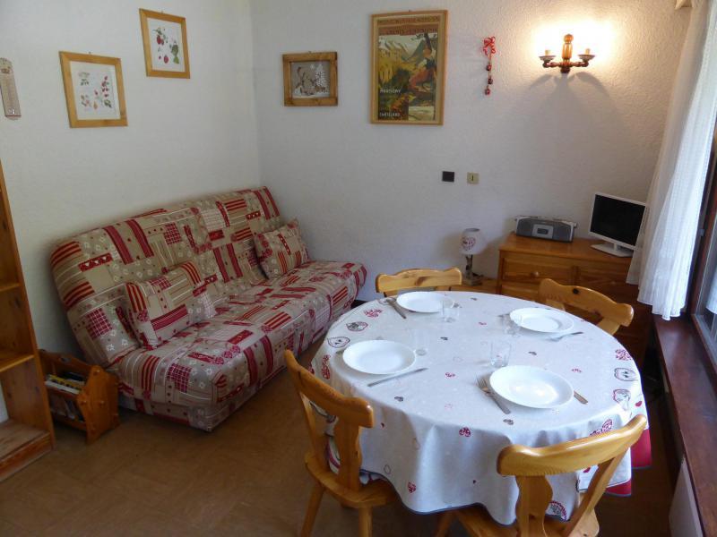 Urlaub in den Bergen 2-Zimmer-Appartment für 4 Personen (18) - Résidence la Tapia - Les Contamines-Montjoie - Wohnzimmer