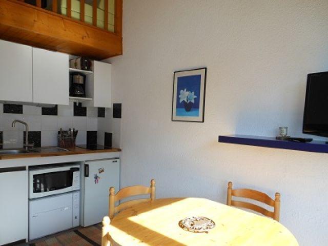 Vacaciones en montaña Estudio mezzanine para 4 personas (55C) - Résidence la Toison Blanche - Châtel - Kitchenette