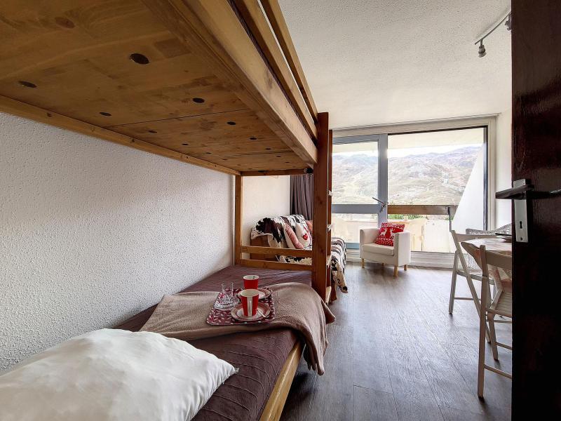 Urlaub in den Bergen Studio für 3 Personen (TG0215) - Résidence la Tougnette - Les Menuires - Balkon