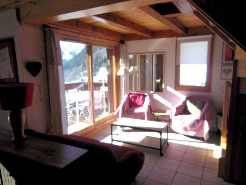 Vacances en montagne Appartement duplex 4 pièces 6 personnes (009P) - Résidence la Tour du Merle - Champagny-en-Vanoise - Séjour