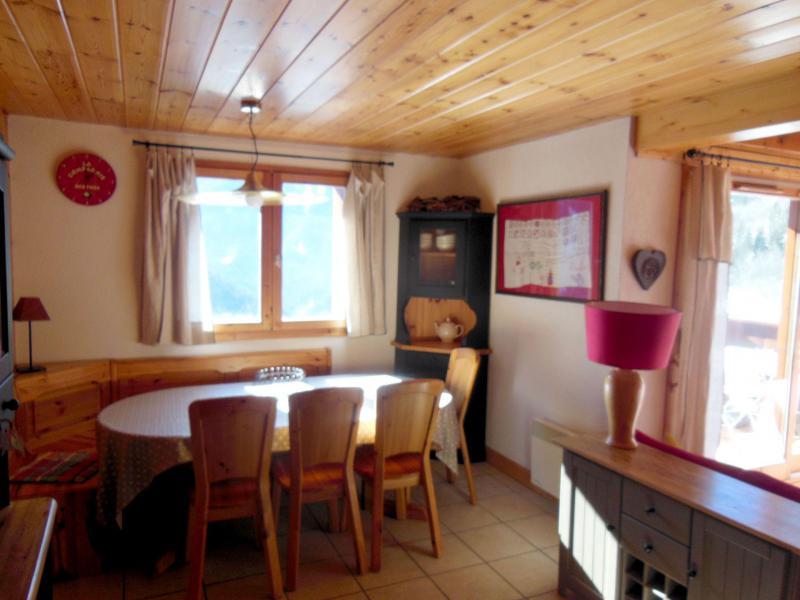 Vacances en montagne Appartement duplex 4 pièces 6 personnes (009P) - Résidence la Tour du Merle - Champagny-en-Vanoise - Table