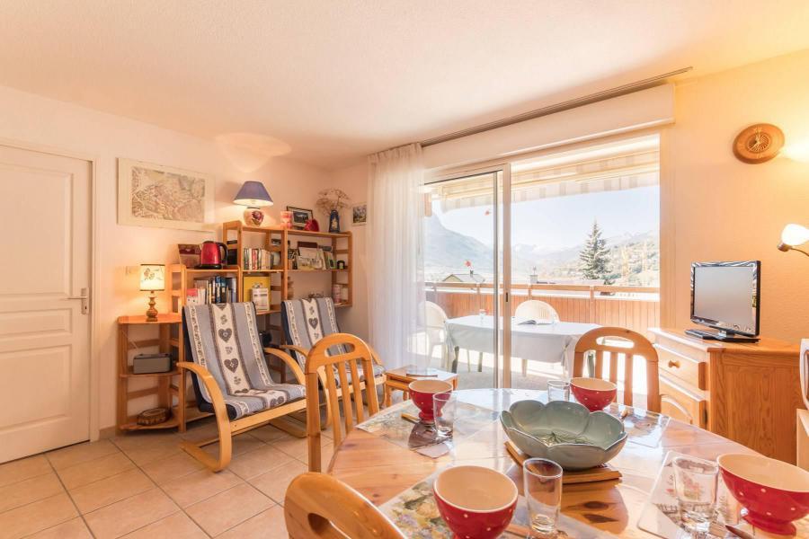 Wakacje w górach Apartament 3 pokojowy z alkową 6 osób (HED01) - Résidence la Tourmaline - Serre Chevalier
