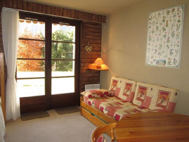 Vacaciones en montaña Estudio para 3 personas (84A) - Résidence la Tovassière - Châtel - Sofá-cama