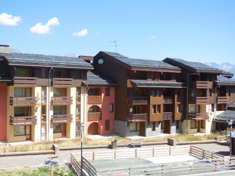 Location au ski Résidence la Traverse - Montchavin La Plagne - Extérieur été
