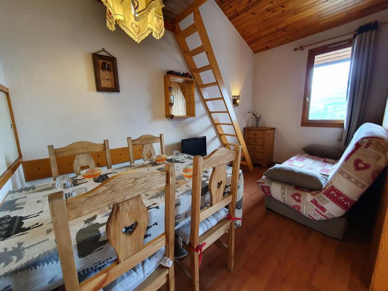 Vacances en montagne Studio 4 personnes (061) - Résidence la Traverse - Montchavin La Plagne