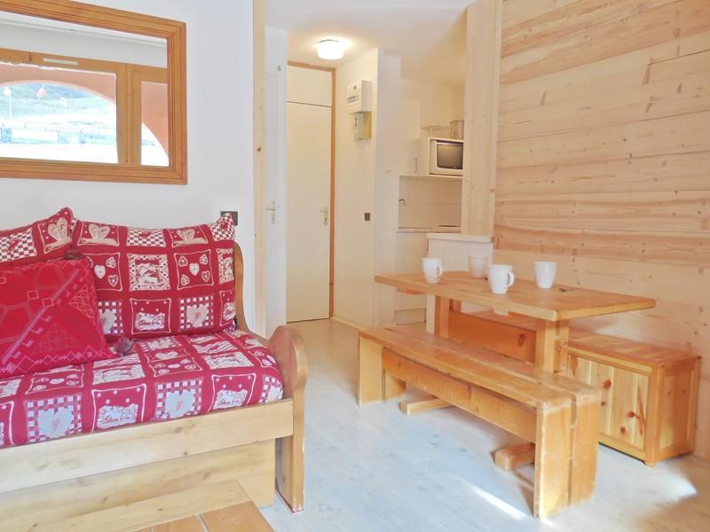 Vacances en montagne Appartement 2 pièces coin montagne 4 personnes (033) - Résidence la Traverse - Montchavin La Plagne - Séjour