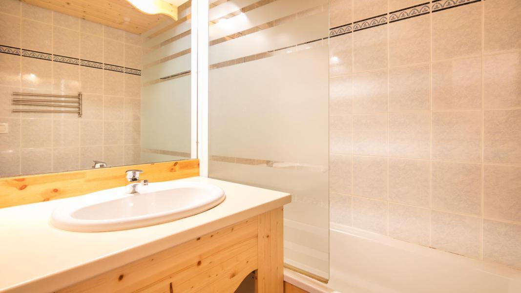 Urlaub in den Bergen Résidence la Turra - Valfréjus - Badezimmer