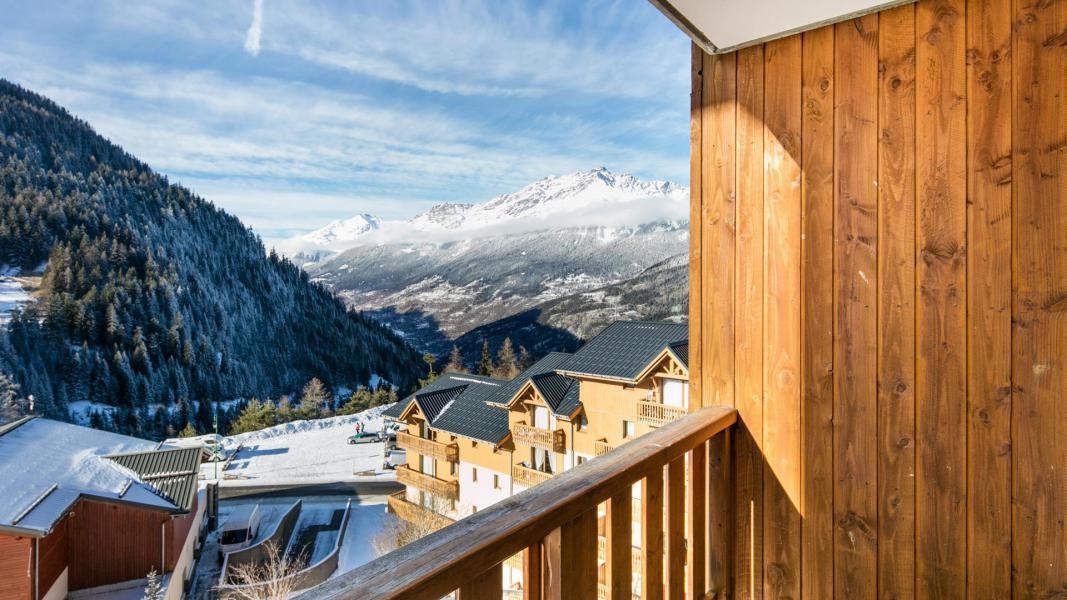 Vakantie in de bergen Résidence la Turra - Valfréjus - Balkon