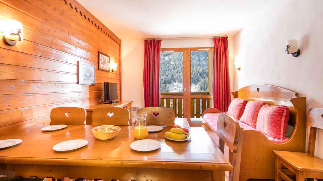 Vakantie in de bergen Résidence la Turra - Valfréjus - Eetkamer