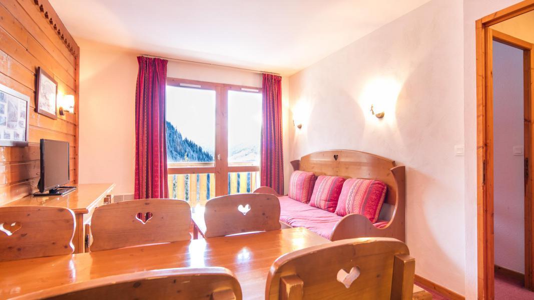 Urlaub in den Bergen Résidence la Turra - Valfréjus - Kleines Wohnzimmer