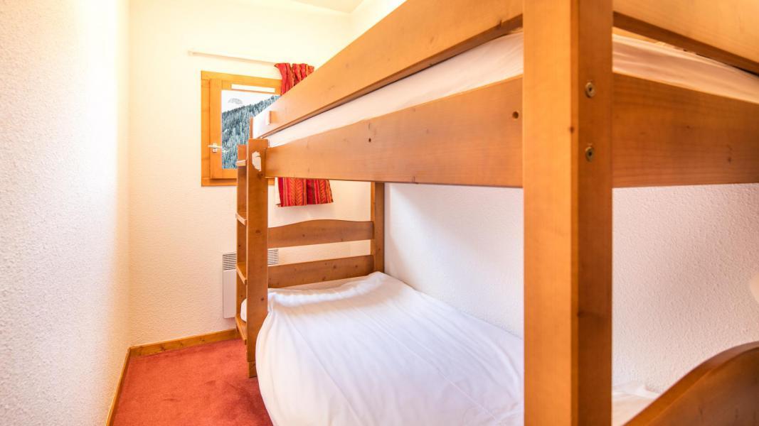 Urlaub in den Bergen Résidence la Turra - Valfréjus - Offener Schlafbereich