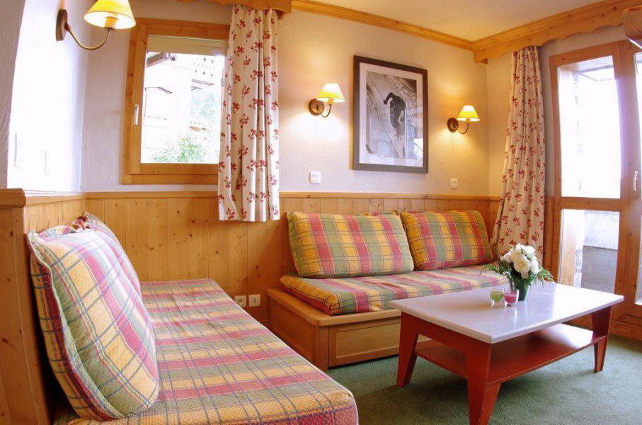 Wakacje w górach Apartament 2 pokojowy 5 osób (GL303) - Résidence la Valériane - Valmorel - Pokój gościnny