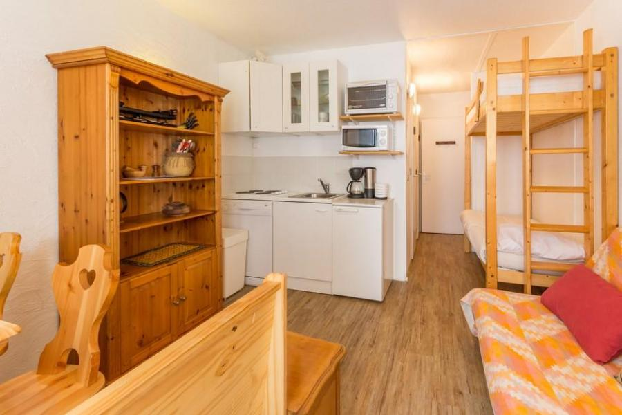Holiday in mountain resort Studio sleeping corner 4 people (21) - Résidence la Vanoise - La Rosière