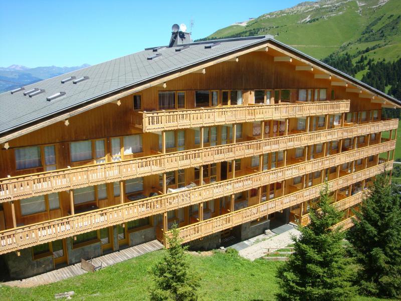 Location au ski Résidence la Vanoise - Méribel-Mottaret - Extérieur été