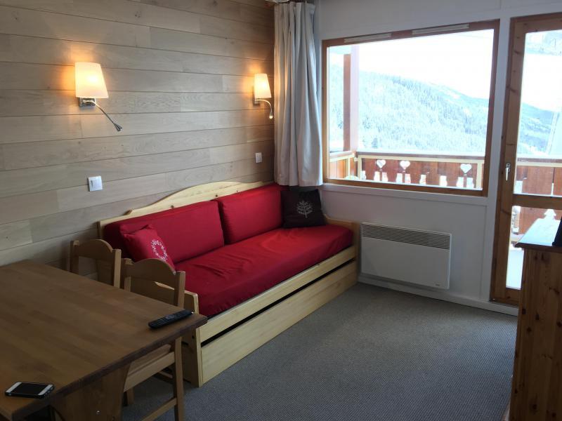 Vacances en montagne Appartement 3 pièces 6 personnes (013) - Résidence la Vanoise - Méribel-Mottaret - Séjour