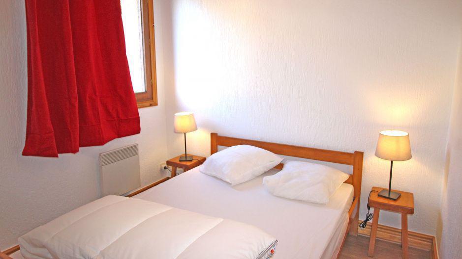 Vacances en montagne Appartement 3 pièces 4 personnes (2) - Résidence la Voute - Saint Martin de Belleville - Chambre