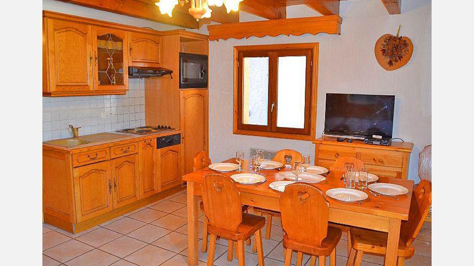 Vacances en montagne Appartement duplex 4 pièces 6 personnes (3) - Résidence la Voute - Saint Martin de Belleville - Cuisine ouverte