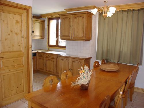 Vacances en montagne Appartement duplex 4 pièces 8 personnes (4) - Résidence la Voute - Saint Martin de Belleville - Coin repas