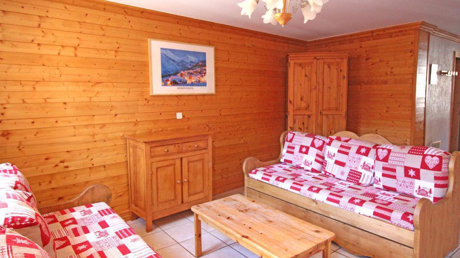 Vacances en montagne Appartement duplex 4 pièces 8 personnes (4) - Résidence la Voute - Saint Martin de Belleville - Séjour