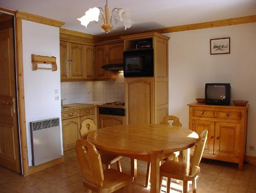 Vacances en montagne Studio 4 personnes (1) - Résidence la Voute - Saint Martin de Belleville - Coin repas