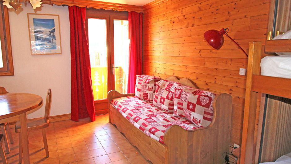 Vacances en montagne Studio 4 personnes (1) - Résidence la Voute - Saint Martin de Belleville - Séjour