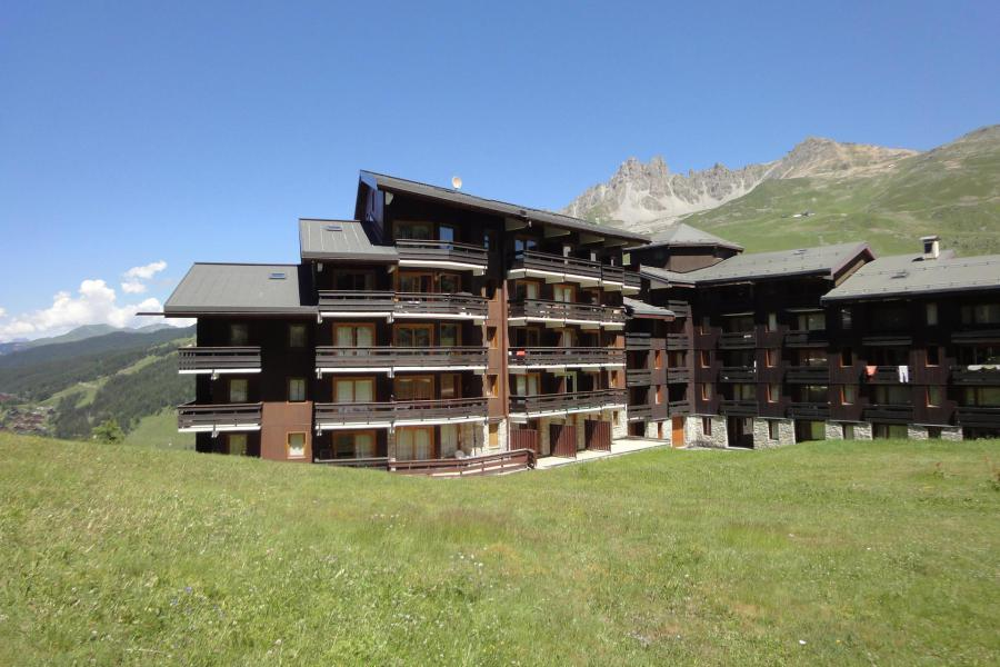 Ski verhuur Résidence Lac Blanc - Méribel-Mottaret - Buiten zomer