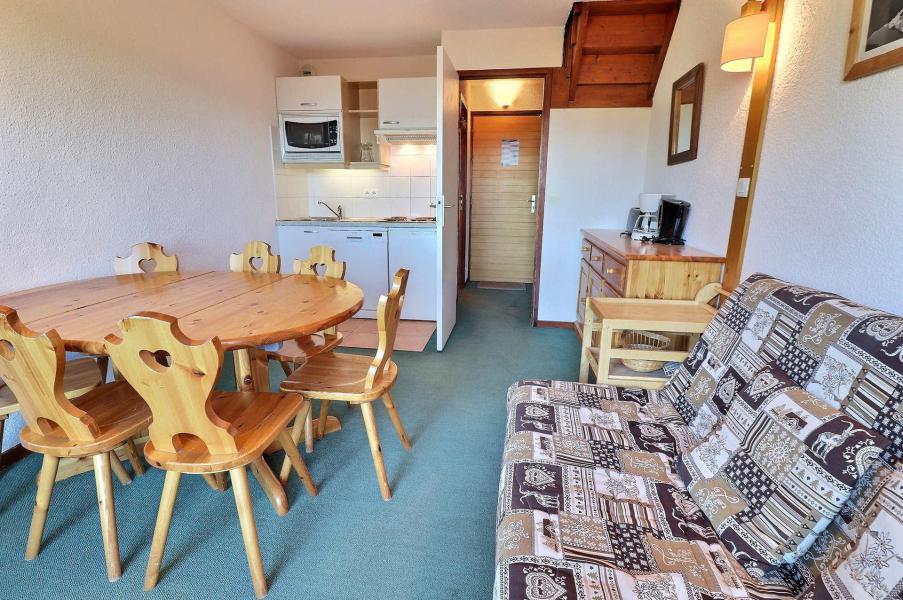 Vacances en montagne Appartement duplex 3 pièces 6 personnes (F9) - Résidence Lac Blanc - Méribel-Mottaret - Kitchenette