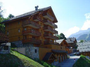 Location au ski Résidence Lachat - Méribel - Extérieur été
