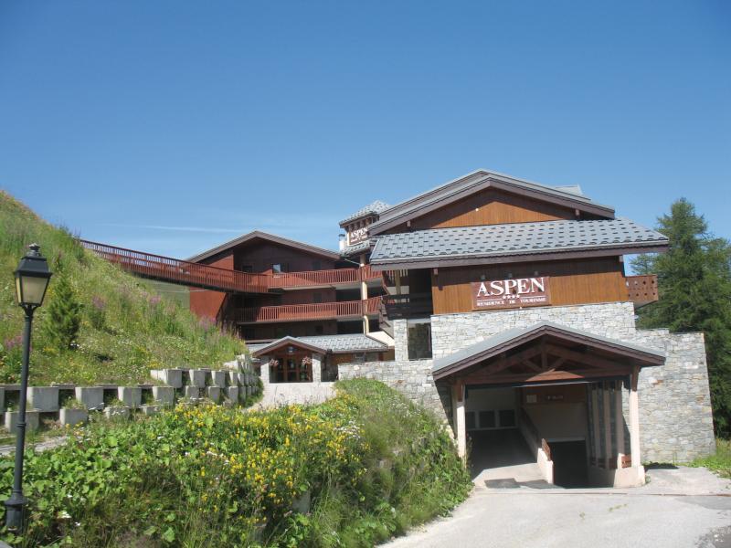 Location au ski Résidence Lagrange Aspen - La Plagne - Extérieur été