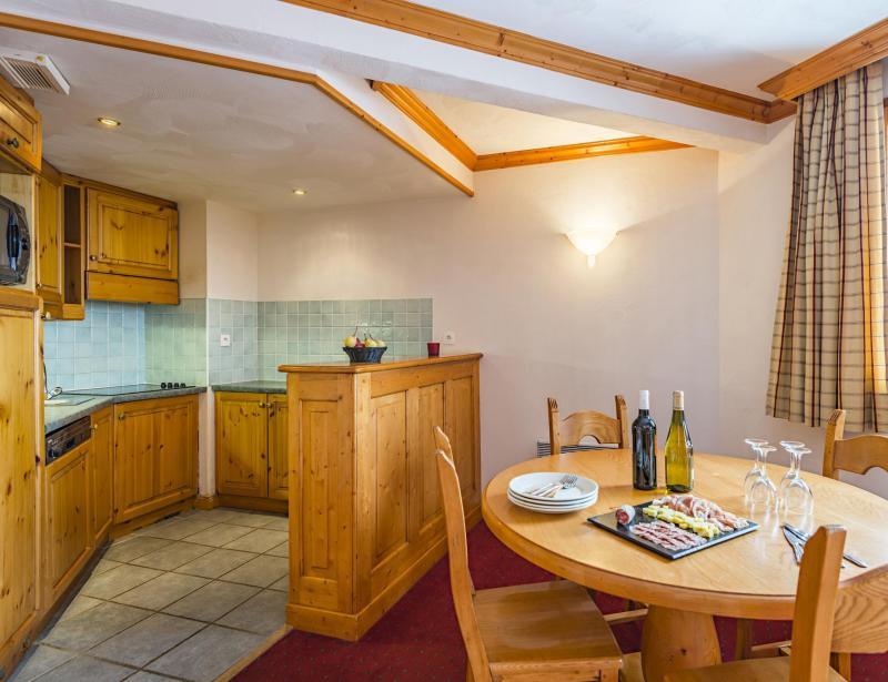 Holiday in mountain resort Résidence Lagrange Aspen - La Plagne - Kitchen