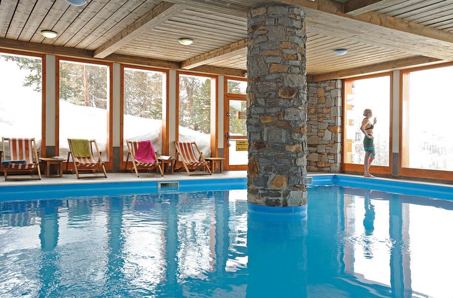 Vacances en montagne Résidence Lagrange Aspen - La Plagne - Piscine