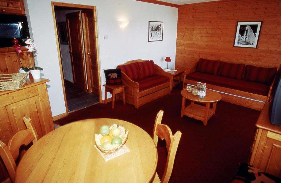 Vakantie in de bergen Résidence Lagrange Aspen - La Plagne - Woonkamer