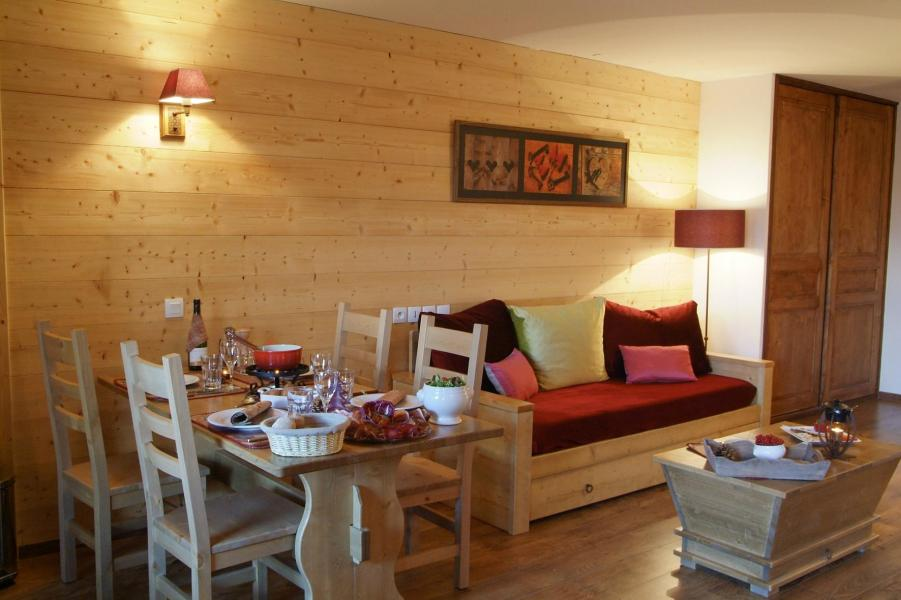 Vacances en montagne Résidence Lagrange Cybèle - Brides Les Bains - Canapé-gigogne