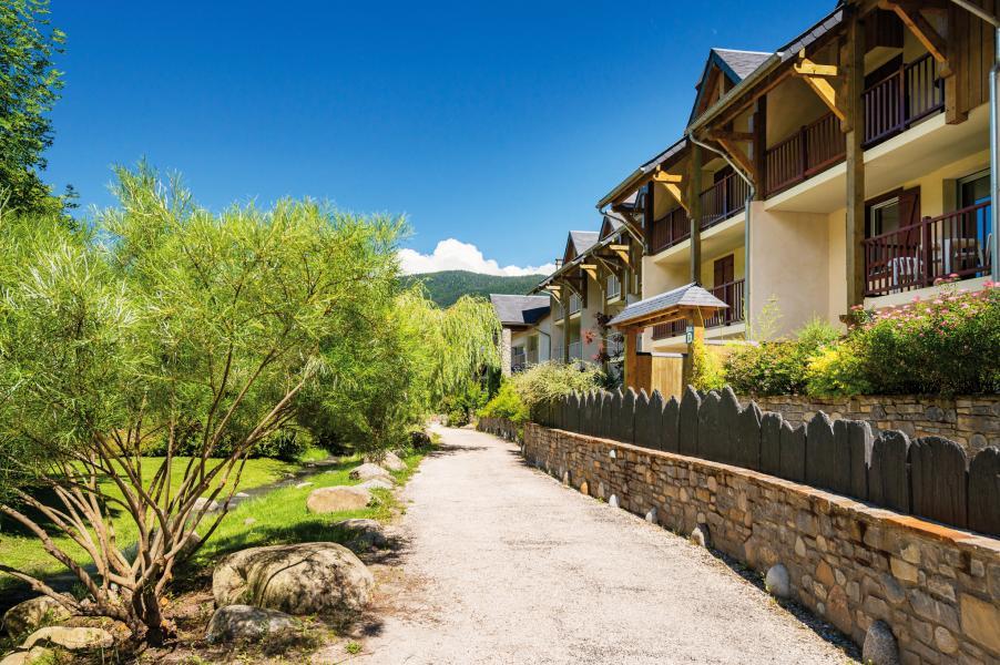 Urlaub in den Bergen Résidence Lagrange l'Ardoisière - Saint Lary Soulan - Draußen im Sommer