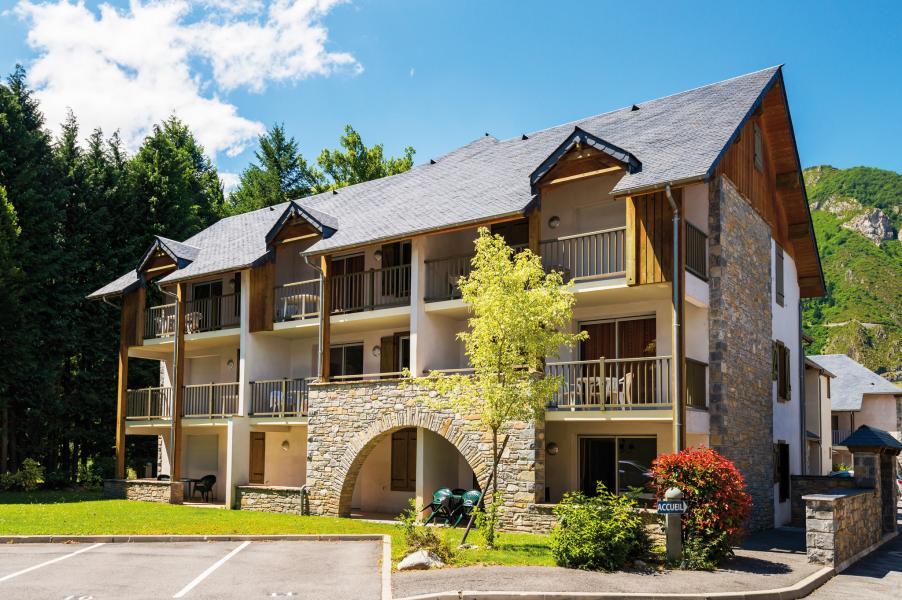 Vacances en montagne Résidence Lagrange l'Ardoisière - Saint Lary Soulan - Extérieur été