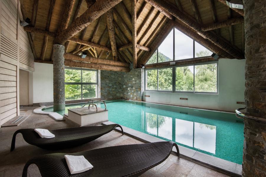 Vacances en montagne Résidence Lagrange l'Ardoisière - Saint Lary Soulan - Piscine