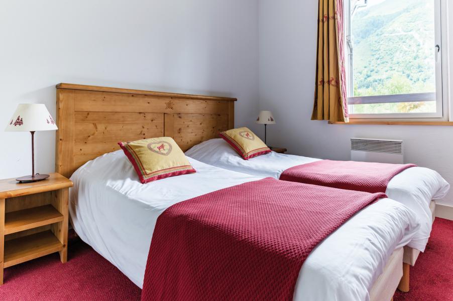 Urlaub in den Bergen Résidence Lagrange l'Ardoisière - Saint Lary Soulan - Schlafzimmer